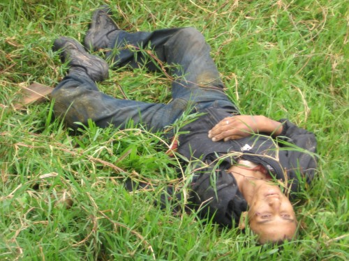Manifestante hallado muerto en El Paraiso / Protestor found dead in El Paraiso