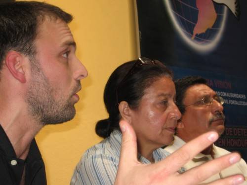 Mision Internacional de Solidaridad y DDHH. COFADEH, Tegucigalpa, 28 julio 2009.