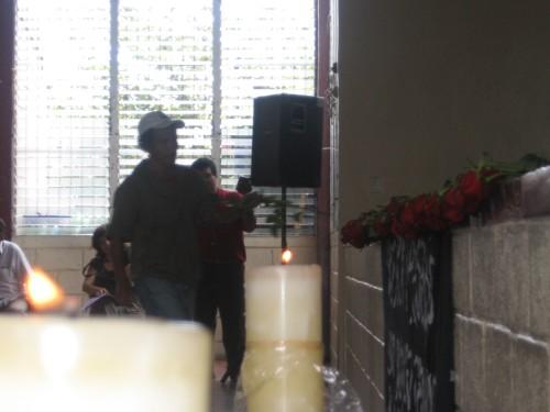 Homenaje a los Detenidos-Desaparecidos en Honduras. Foto: Sandra Cuffe