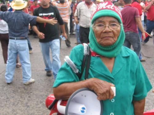 Dionisia Diaz, abuela de la Resistencia. Foto: Sandra Cuffe